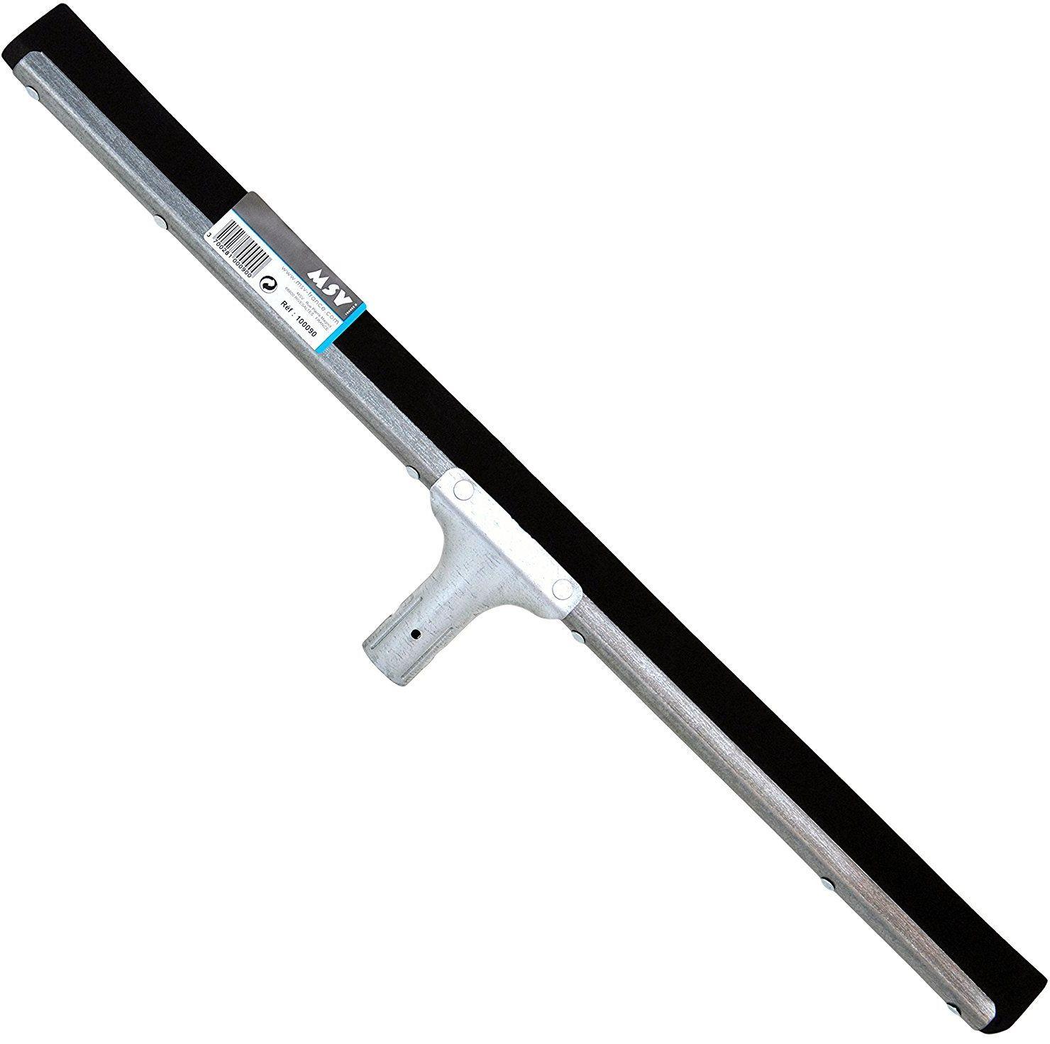 MSV wycieraczka podłogowa z metalu 60 cm, srebrna, 60 cm