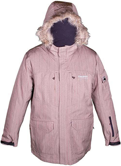 Deproc Active męska kurtka funkcyjna parka, brązowa, XL