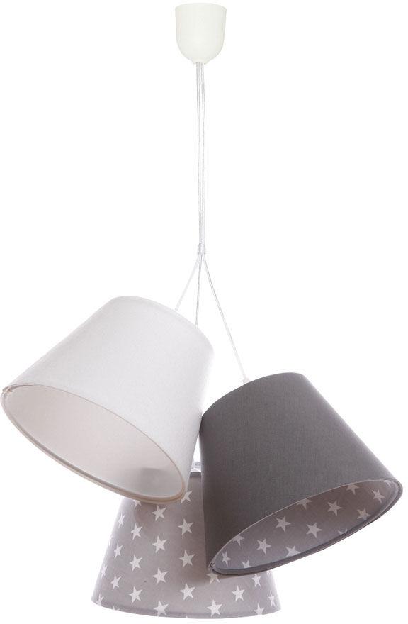 Welurowa lampa wisząca dla dzieci w gwiazdki - EXX75-Vosa
