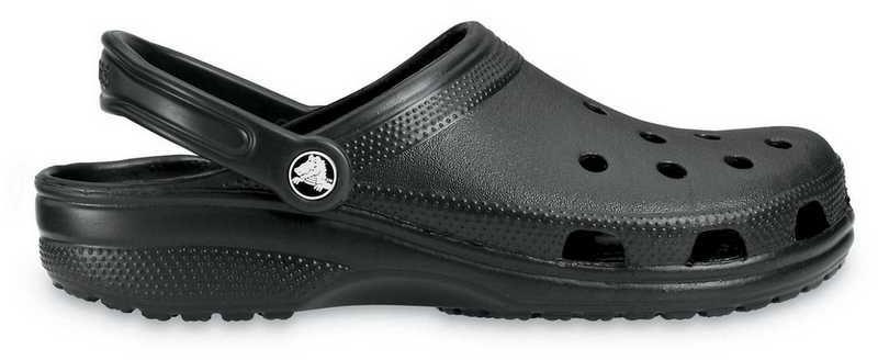 Klapki CROCS Classic 10001 Black czarne10001001