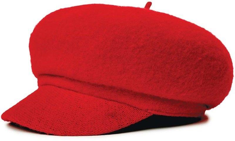 BRIXTON - Audrey Brim Beret Red (RED