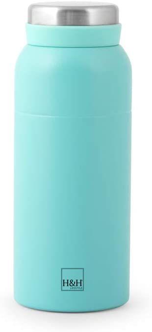 H&H 750052 termos ze stali szlachetnej 18/10, jasnoniebieski, Lt 0,35, stal
