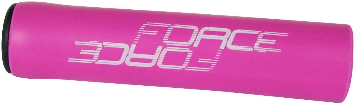 FORCE chwyty kierownicy rowerowej lox różowe 382974,8592627097744