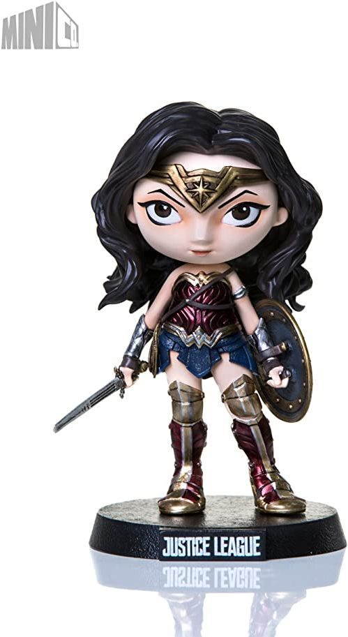 Iron Studios Justice League Mini Co. PVC Figure Wonder Woman 13 cm Figures