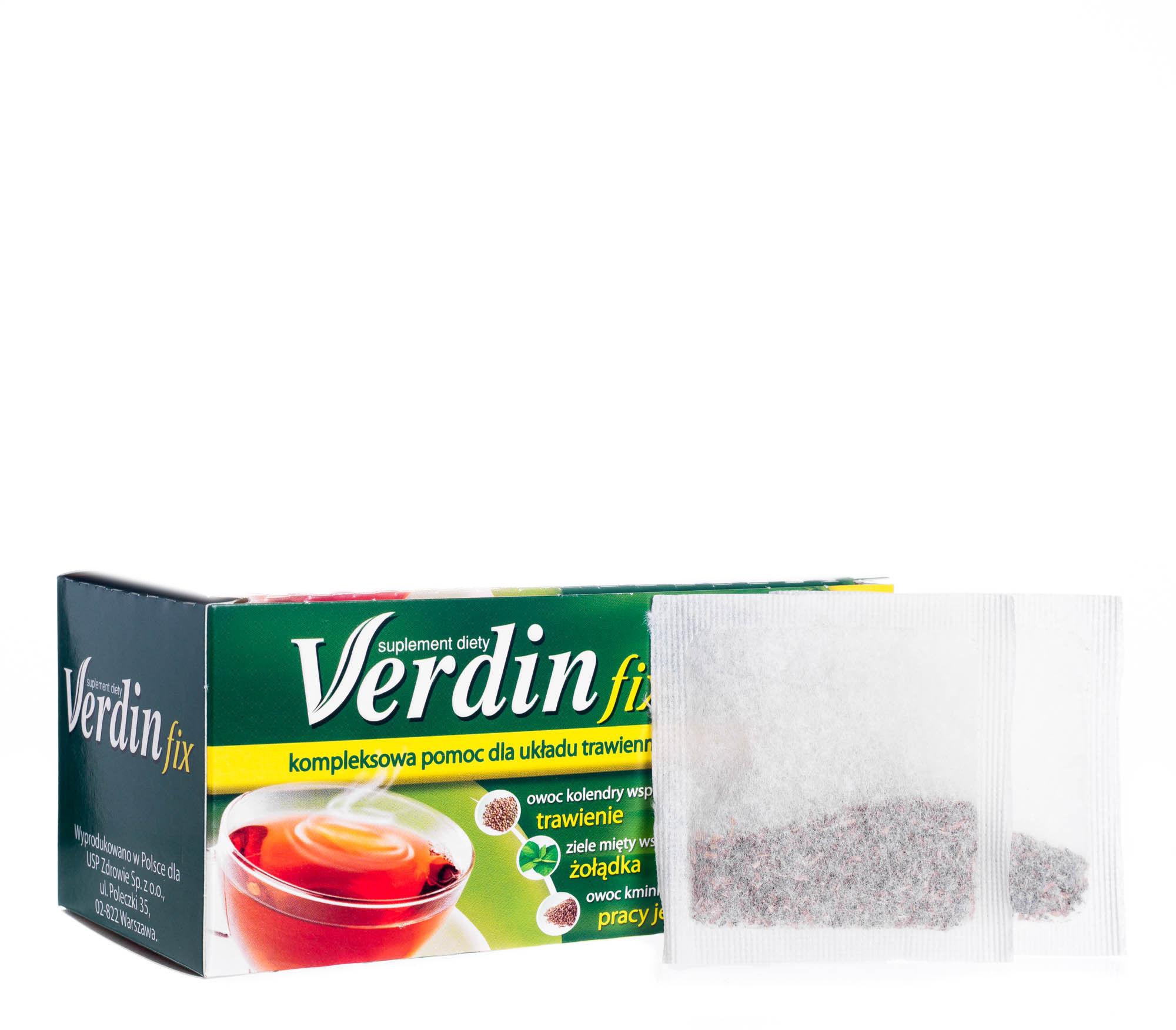 Verdin Fix Suplement diety kompozycja 6 ziół 36 g (20 x 1,8 g)