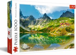 Trefl Schronisko nad Zielonym Stawem, Tatry, Słowacja Puzzle 1000 Elementów dla Dorosłych i Dzieci od 12 lat