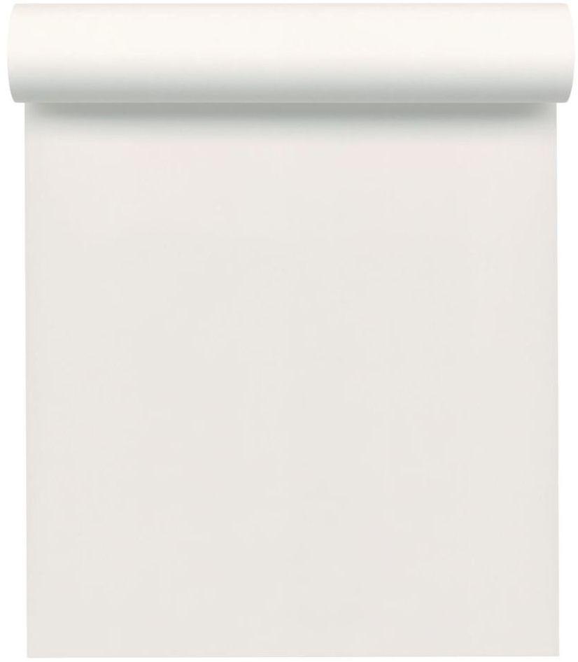 Tapeta jednobarwna biała winylowa na flizelinie