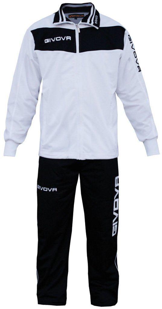 Givova, garnitur wela, biały/czarny, XS