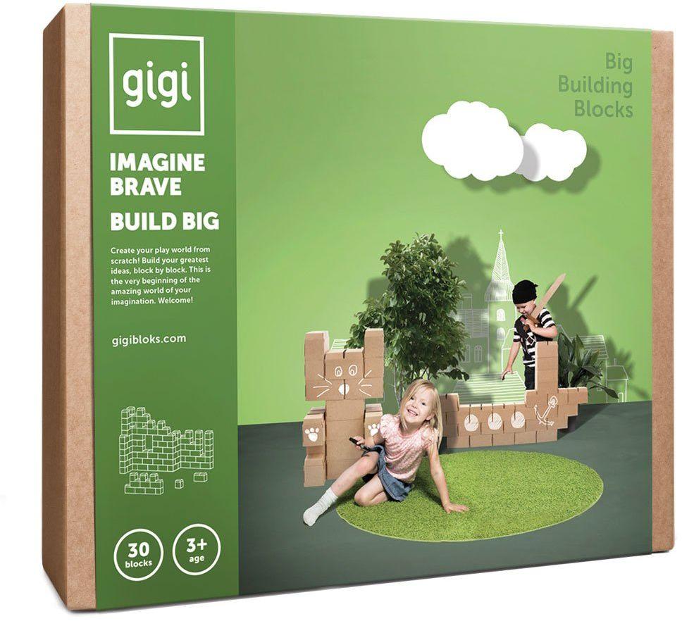 GIGI Bloks duże bloki kartonowe bloki (30 bloków)