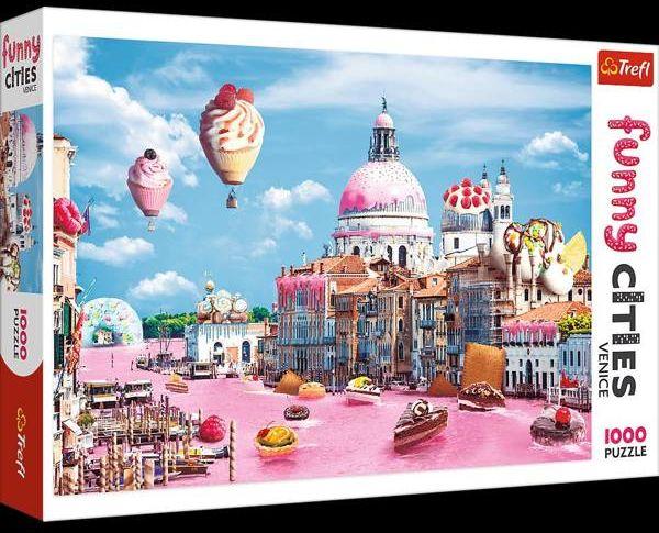 Puzzle 1000 Słodycze w Wenecji TREFL - Opracowanie zbiorowe