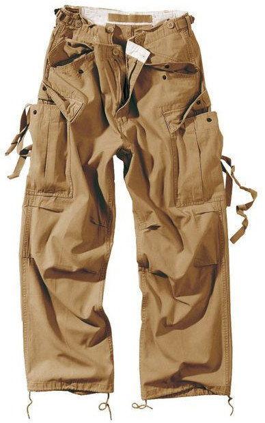 Surplus Spodnie M65 Vintage Khaki