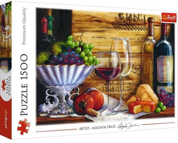 Puzzle 1500 W winnicy 26174 - Trefl PAP