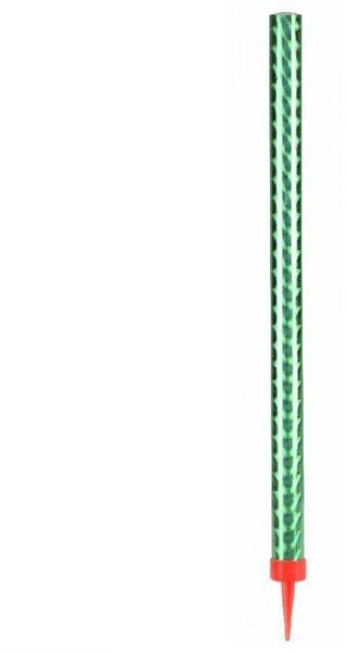 Fontanna tortowa zielona 26 cm 1szt K3268-ziel