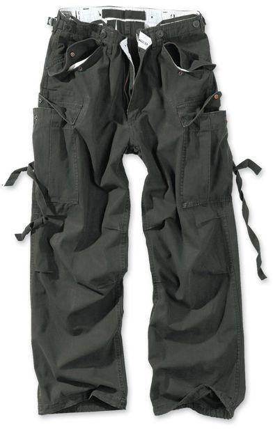 Surplus Spodnie M65 Vintage Czarne