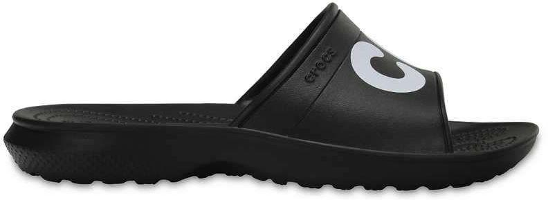 Klapki CROCS Classic Graphic Slide czarne204465066