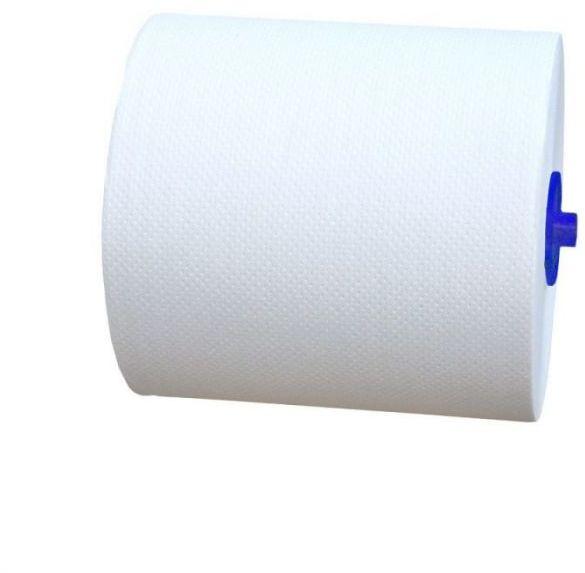 Ręczniki z adaptorem Merida premium Automatic Maxi, śr. 18,5 cm, dł. 100 m, 3-warstwowe, białe, karton 5 rolek