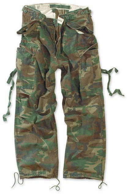 Surplus Spodnie M65 Vintage Woodland