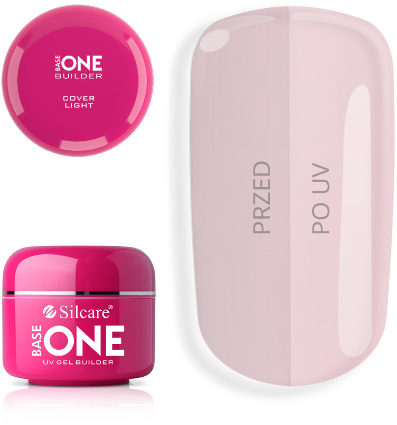 Base One Żel UV Cover Light 5 g