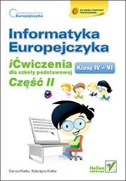 Informatyka Europejczyka. iĆwiczenia dla szkoły podstawowej, kl. IV-VI. Część II - Ebook.