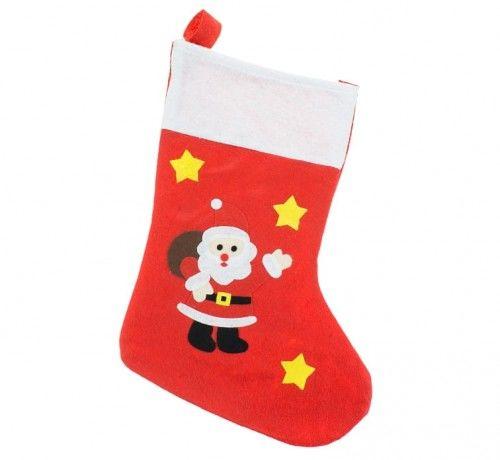 Skarpeta Świąteczna z Mikołajem