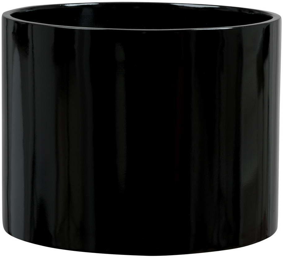 Donica z włókna szklanego D101A czarny połysk
