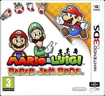 Gra Mario & Luigi: Paper Jam Bros (Nintendo 3DS)