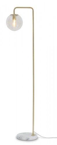 Lampa podłogowa Warsaw złota 156 cm
