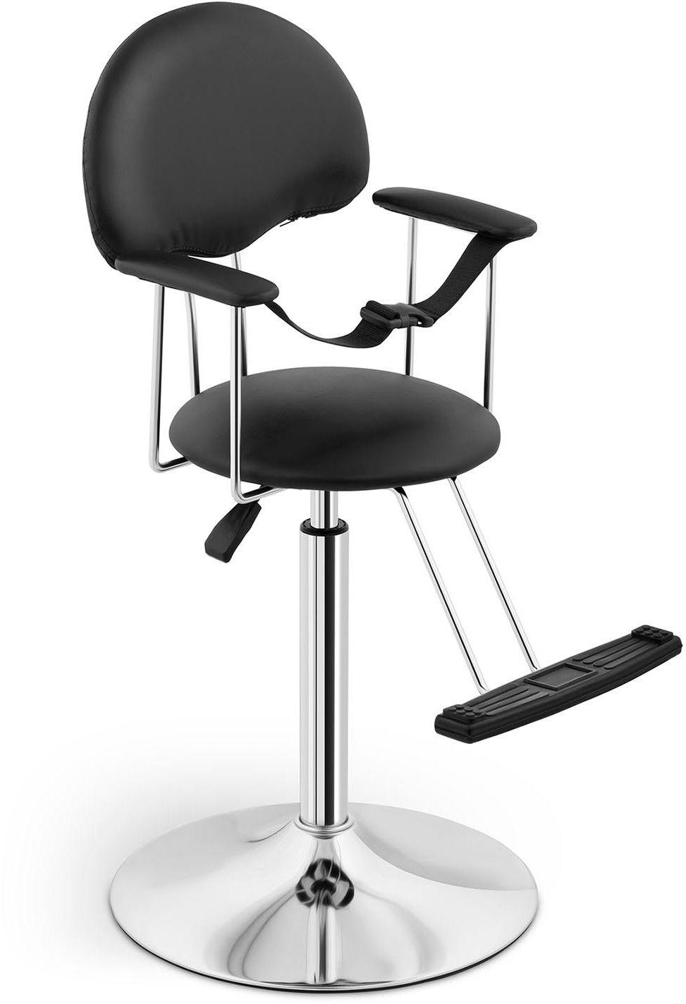 Fotel fryzjerski dla dzieci Physa Birmingham Black - PHYSA BIRMINGHAM BLACK - 3 LATA GWARANCJI / WYSYŁKA W 24H ZA 0 ZŁ!