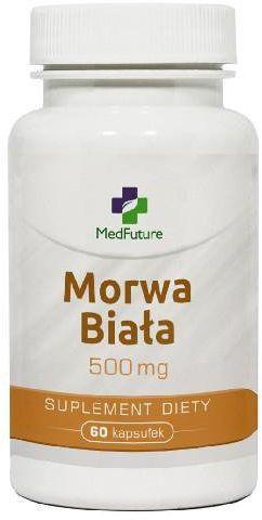 MedFuture Morwa biała 500 mg 60 kapsułek