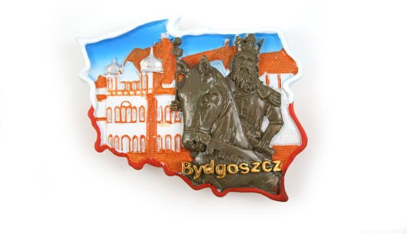 Magnes kontur Bydgoszcz Kazimierz Wielki