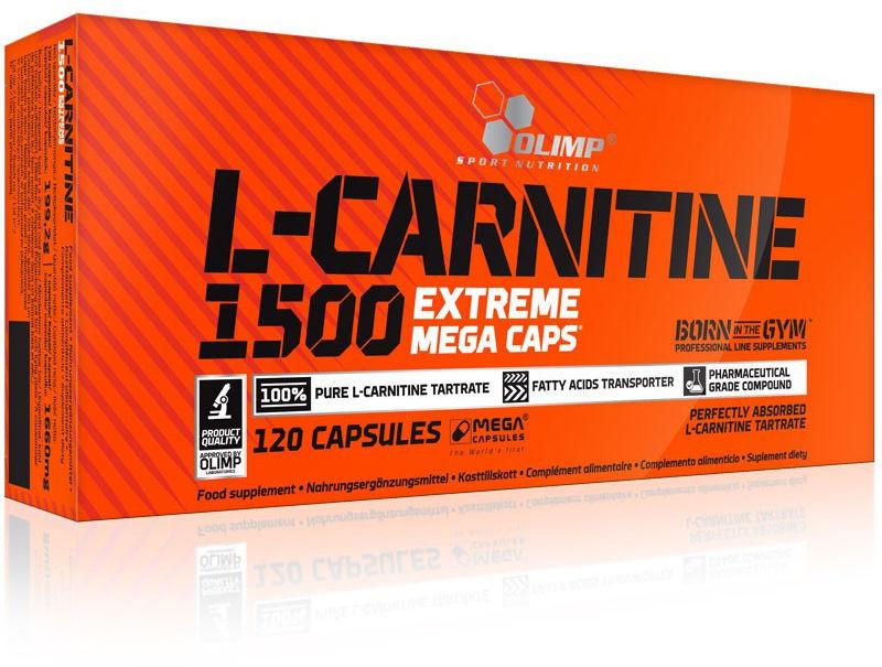 OLIMP L-Carnitine 1500 Extreme Mega Caps 120caps