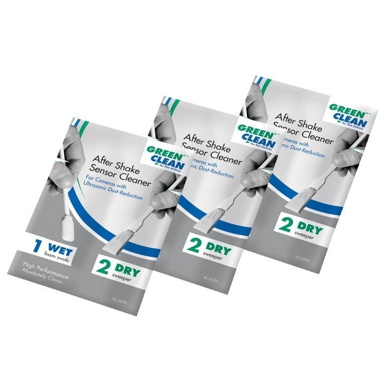 Szpatułki do czyszczenia matryc APS-C z ultradźwiękowym systemem czyszczenia Green Clean 5070