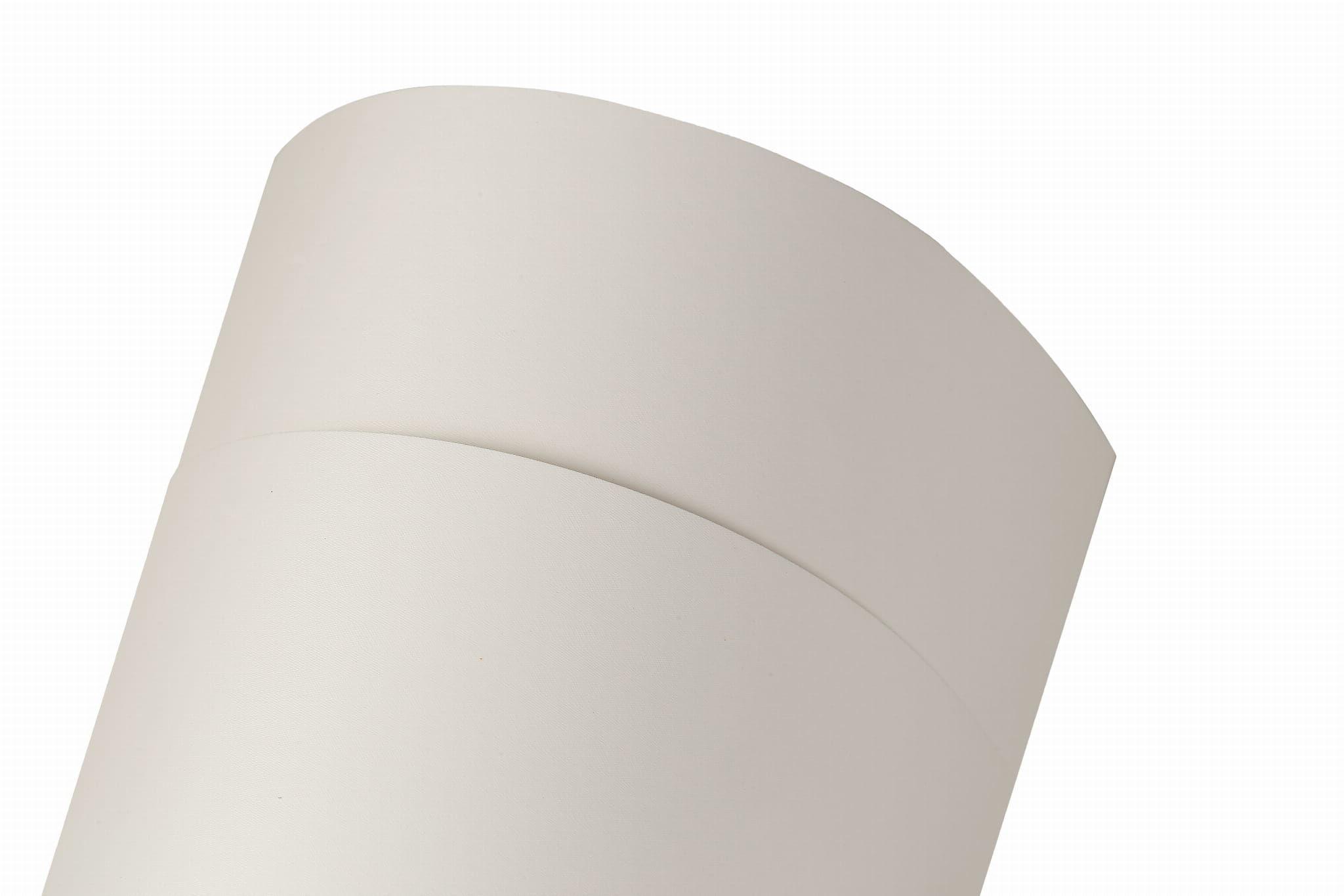 Papier samoprzylepny ozdobny Savile Row 90 White Tweed nienacinany 90g, format 50x70 cm, (kod ppp362)
