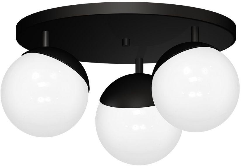 Lampa sufitowa SFERA BLACK 3xE14