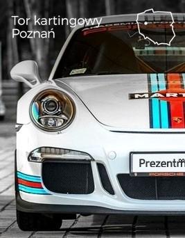 Jazda za kierownicą Porsche 911 (991) GT3  Tor kartingowy Poznań