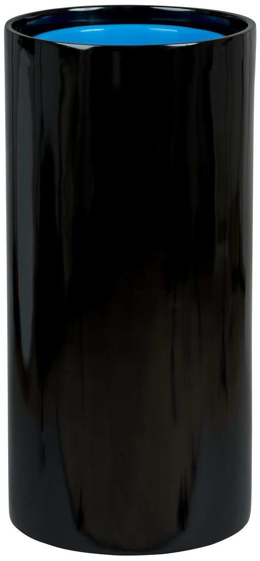 Donica z włókna szklanego D101D czarny połysk