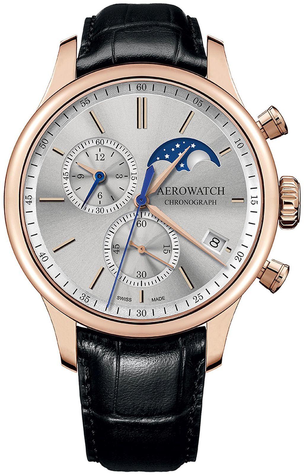 Aerowatch 78986-RO03 > Wysyłka tego samego dnia Grawer 0zł Darmowa dostawa Kurierem/Inpost Darmowy zwrot przez 100 DNI