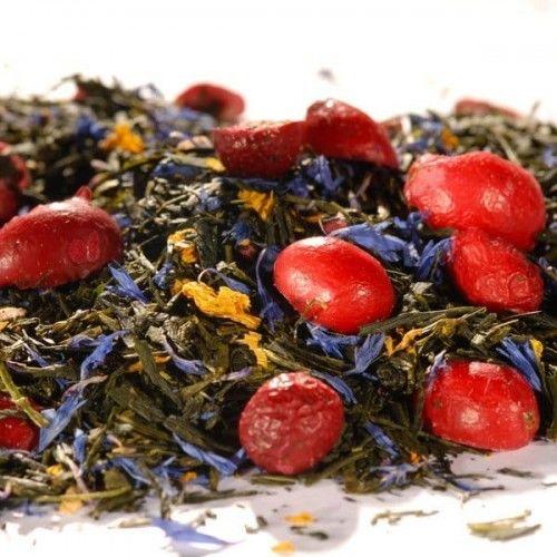 Herbata zielona aromatyzowana Żurawinowy Sen 100g