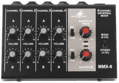 IMG Stage Line MMX-8, miniaturowy mikser audio