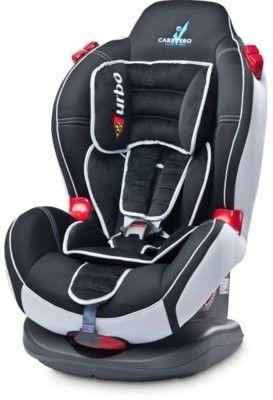 Caretero fotelik samochodowy sport turbo 9-25 kg graphite