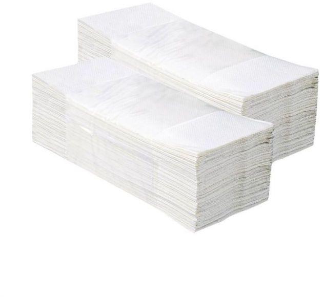 Pojedyncze ręczniki papierowe optimum ,białe, dwuwarstwowe, 3200 szt. (20 paczek po 160 szt.)