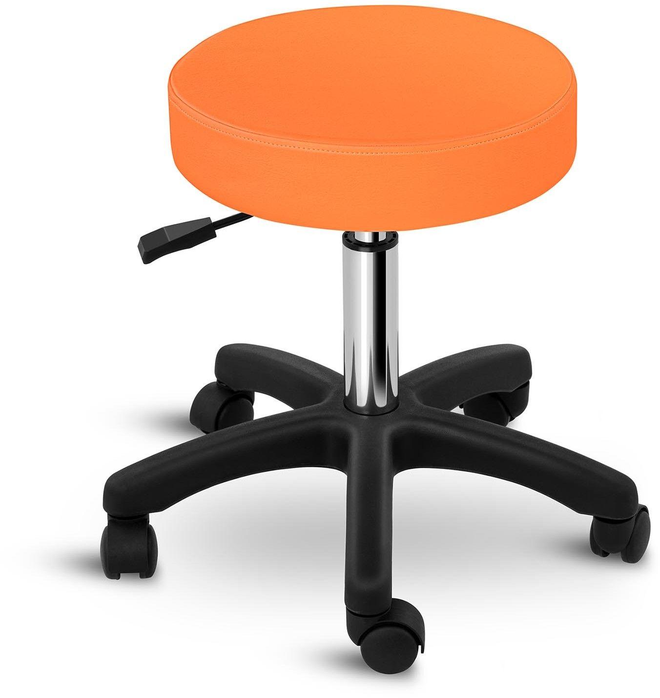 Taboret kosmetyczny Aversa pomarańczowy - physa - Aversa Orange - 3 lata gwarancji/wysyłka w 24h