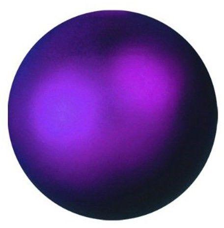 EUROPALMS Deco Ball Dekoracyjne kule, bombki 3,5cm, violet, metallic 48szt