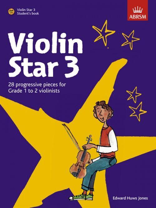 PWM Huws Jones Edward - Violin Star vol. 3 (utwory na skrzypce + CD)