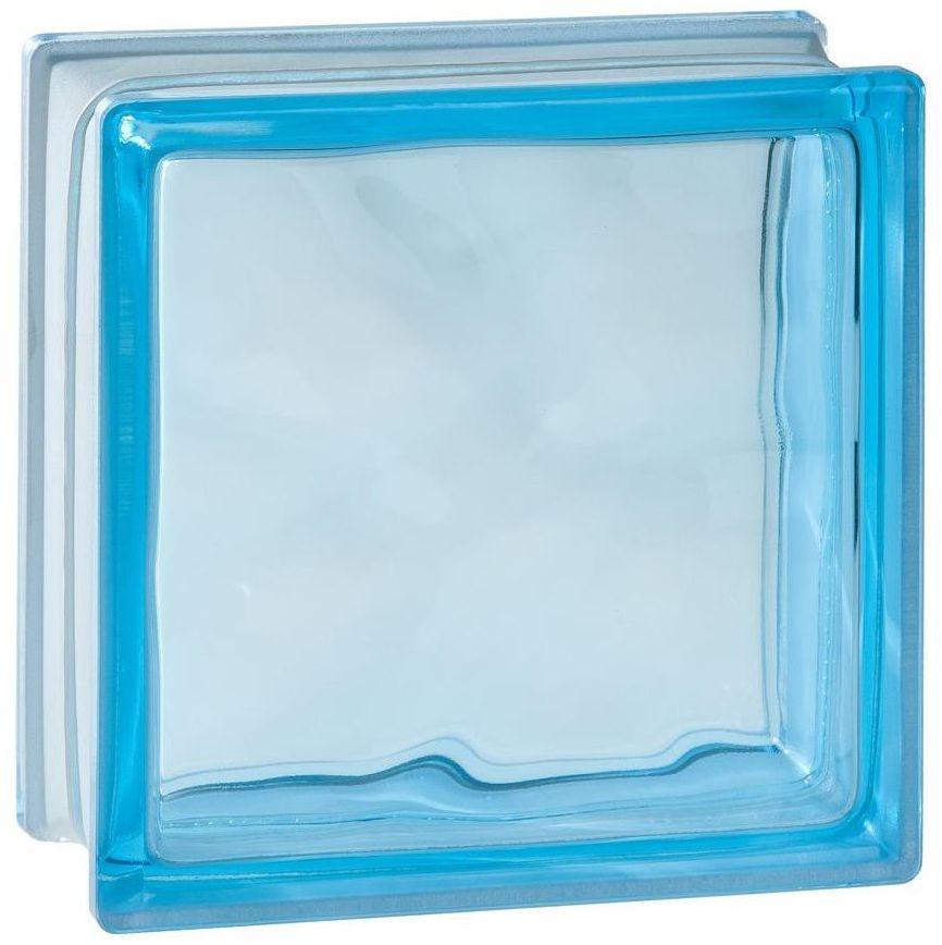 Pustak szklany 1908 W Niebieski VITRABLOCK