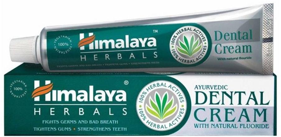 HIMALAYA Herbals Dental Cream - pasta do zębów z naturalnym fluorem 100g