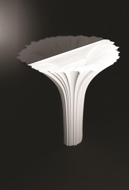 Marmorin umywalka stojąca Flora bez otworu biała P525075020010 __DARMOWA DOSTAWA__