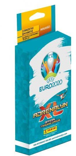 Karty UEFA EURO 2020 Adrenalyn XL Blister 3+1 ZAKŁADKA DO KSIĄŻEK GRATIS DO KAŻDEGO ZAMÓWIENIA