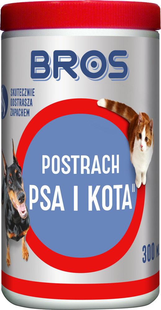 BROS odstraszacz - postrach psa i kota 300ml