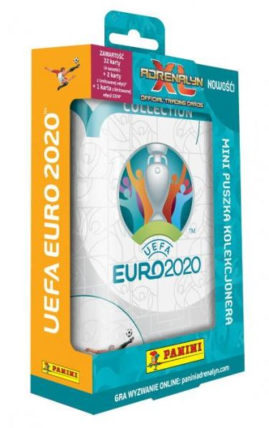 Karty UEFA EURO 2020 Adrenalyn XL Mini puszka ZAKŁADKA DO KSIĄŻEK GRATIS DO KAŻDEGO ZAMÓWIENIA